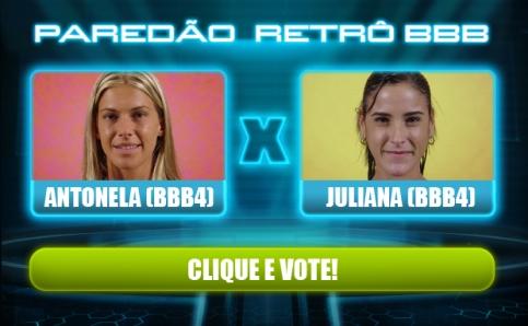 Antonela ou Juliana quem deve ir pro BBB13?