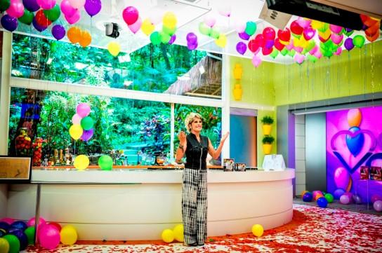 Festa de aniversário da Ana Maria Braga. - (Foto: TV Globo/João Miguel Júnior)
