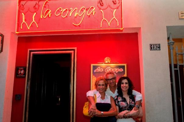 Sueli ( Andréa Beltrão ), o autor Claudio Paiva e Fátima ( Fernanda Torres ). - Crédito: TV Globo/Alex Carvalho