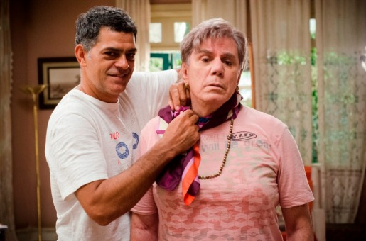 Léo (Eduardo Moscovis) e Veruska (Reginaldo Faria). - Crédito: TV Globo/Raphael Dias