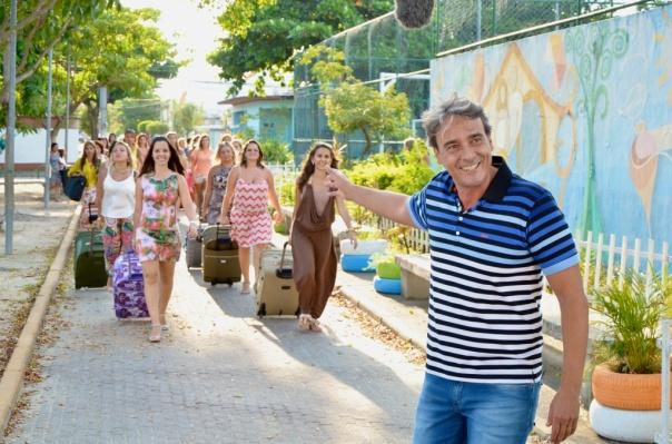 Alexandre Borges comanda a série 'Mundo Sem Mulheres' no Fantástico e no canal GNT.Divulgação Rede Globo/ Frederico Rozario
