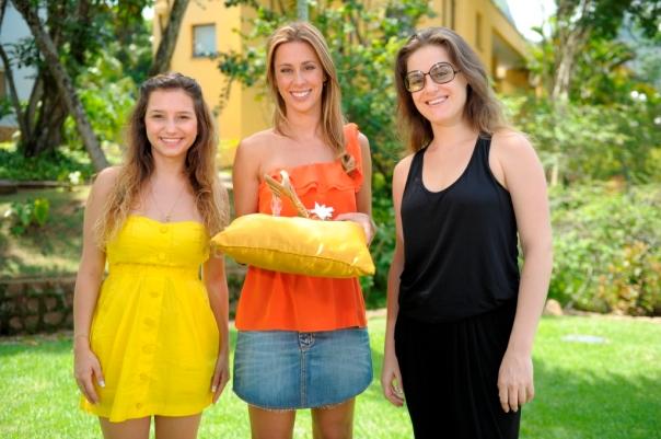 Lorena Comparato, Dani Monteiro e Alessandra Maestrini. - Crédito: TV Globo/Estevam Avellar