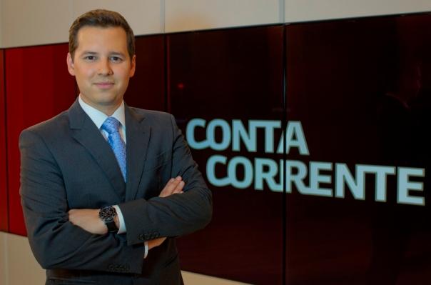Globo News – Conta Corrente – Dony De Nuccio (Foto: TV Globo / Bob Paulino)